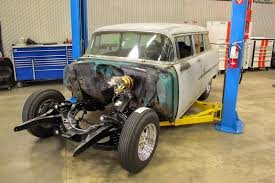 CPP's Official Blog: Street Rodder Magazine Editor's '55 Chevy Wagon