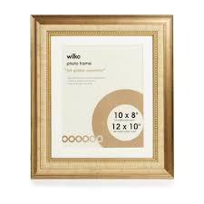 wilko dorchester gold photo frame 12 x 10in image 1