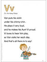 V Alliteration Poem