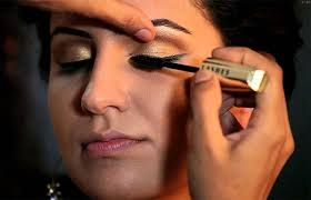 bollywood glamour retro eye makeup tutorial art