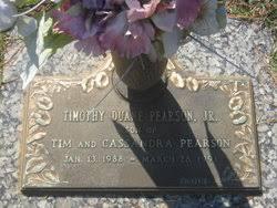 Timothy Duane Pearson, Jr (1988-1991) - Find A Grave Memorial