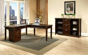 gallery home office desk. Martin Furniture Wood Home Office L-shaped Writing Desk Gallery C