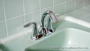 Replace Bathroom Faucet How To Install A Bathroom Faucet Simple Practical Beautiful