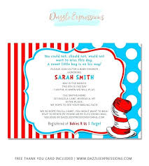 Electronic Thank You Card Free Dr Seuss Thank You Cards