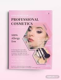 professional cosmetics flyer template cosmetics flyer1