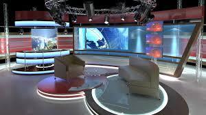 tv studio furniture. Wonderful Studio Virtual Tv Studio Chat Set 1 3d Model Max Obj C4d Dxf Dwg Mtl 4 In Tv Studio Furniture CGTrader