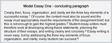 introduction sample essay step 6 write introduction and conclusion the learning centre