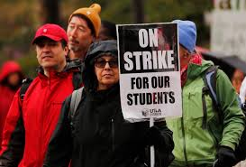 Teachers In La Want More Than A Raise Heres Why 30 000 Are