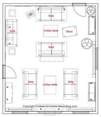 Lounge Furniture Layout Dream House Experience