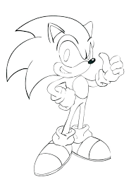 Coloring Pages Sonic The Hedgehog Characters Coloring Pages Tails