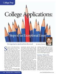 best writing essays for college guides and articles images on college applications steps to an exceptional essay by andrew pudewa the old schoolhouse magazine 2014 page