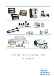 Ivoclar Classic Firing Chart Ivoclar Viadent Technical Product Catalogue By Metrodent Issuu