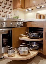 Kitchen Lazy Susan Cabinet Awesome Kitchen With Under Counter Lighting And Pull Out Lazy
