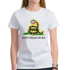Gadsden Strikes Obama Logo Women's T-Shirt > Gadsden Strikes Obama ...