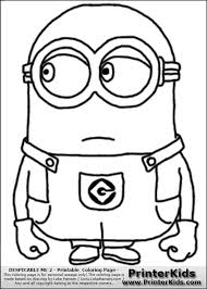 Minions Coloring Pages Getcoloringpagescom