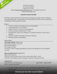 Resume Styles 2017 How to Write a Perfect Internship Resume Examples Included 100