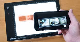 his newly developed app lab makes it easier than ever to turn negatives and slides of various sizes into digital files