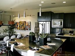 contemporary kitchens with dark cabinets. Modern Black Kitchen Contemporary Kitchens With Dark Cabinets T