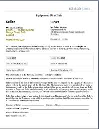 Ms Word Bill Of Sale Form Template | Word Document Templates