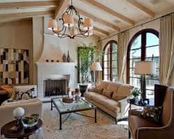 Mediterranean Style Living Room Design Italian Type Decor Obliges To Fill  The Premises With Warm Ground ...