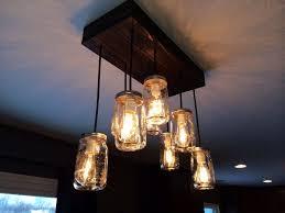 mason jar track lighting. mason jar chandelier canning light chandeliers via www track lighting