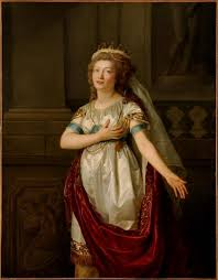 best th century portraits images th century madame de saint huberty in the role of dido anne vallayer coster