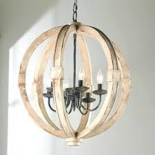 wood chandelier drops orb mid century modern
