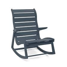 furniture modern outdoor rocking chairs outstanding rapson rocker hiback grey farm porch chair cushions