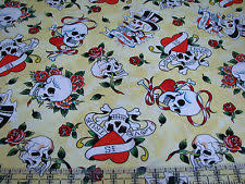 Quilt Patch Tattoo & 55 Best Sewing/Quilting/Crafting Tattoos ... & 3 Yards Quilt Cotton Fabric - Quilting Treasures Ed Hardy Tattoo . Adamdwight.com