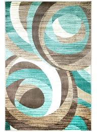 brown turquoise rug area rugs summit within prepare 7