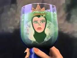 snow white evil queen transformation low pitched