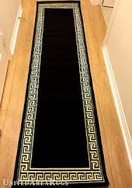 2x8 runner rug. 1 Of 3FREE Shipping 2x8 Runner Rug Modern Greek Key Design Hallway Solid Black Size 2\u0027x7\u00272 L