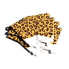 Leopard Print Party Decorations Leopard Print Treat Boxes Animal Print Favor Boxes Party Supplies
