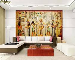 Beibehang Muur Papel De Parede Muurschildering Egyptische Cijfers