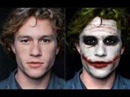 heath ledger to joker transformation with photo