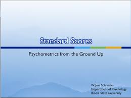 Standard Scores In Psychological Evaluation Reports | Assessing ...