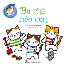 Sách - Cổ Tích Mèo Cải Biên - Sách Lật Giở - Ba Chú Mèo Con giảm chỉ còn  48,000 đ