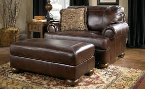 Leather Accent Chair With Ottoman Ottoman Splendid Living Room Chairs With Arms Design And Ideas
