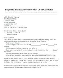 Payment Arrangement Letter Rent Payment Agreement Template Rent ...