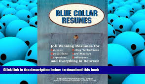 Pdf Free Download Blue Collar Resumes Read Online Video Dailymotion