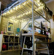 industrial style loft bed. Plain Industrial In This Article Weu0027ll Take A Look At Bradu0027s DIY FullSize Loft Bed He  Built For His Industrialstyle Condo And Show You What Youu0027ll Need To Build Your Own With Industrial Style N