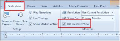 Using Presenter View In Powerpoint For Pc And Mac