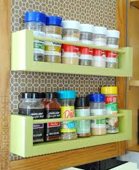Storage For Kitchen Cabinets Kitchen Organization Ideas For The Inside Of The Cabinet Doors