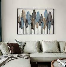 3d french country metal art wall