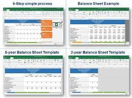 Simple Balance Sheet Excel Simple Balance Sheet Template In Excel Balance Sheet