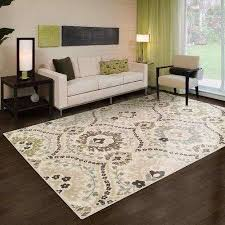 best area rugs for living room of ophelia co jenn ivory green area rug furniture