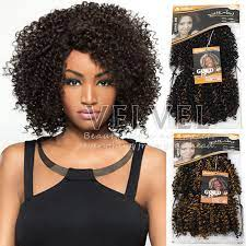 "1PC+Free Shipping Noble Gold Dora Synthetic Hair Extension Afro Curl 8""  Color1B/27,1B/30 Premium Afro Curly Short Weave