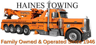 Towing Quote New New Jersey Towing Haines TowingHaines Towing