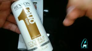 Check spelling or type a new query. Revlon Uniq One Coconut Hair Treatment Spray Review Youtube