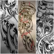 рукава татуировки стили разновидности фото